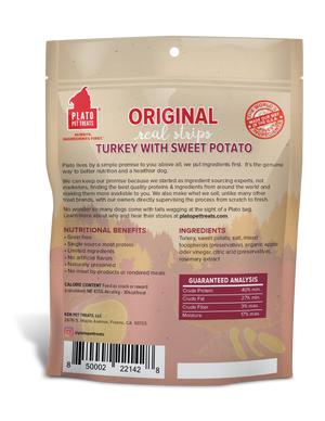 Plato Turkey with Sweet Potato Treats for Dogs