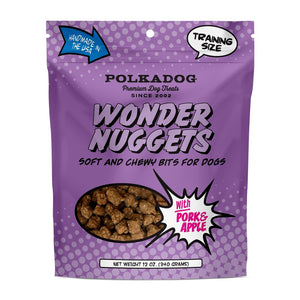 Polka Dog Wonder Nuggets Pork Dog Treats 12oz