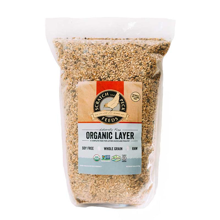 Scratch & Peck Organic Layer Chicken Feed