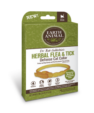 Earth Animal Herbal Flea & Tick Defense Collar for Cats