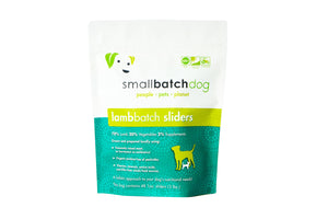 Smallbatch Frozen Lamb Batch Dog Food - CURBSIDE or LOCAL DELIVERY ONLY