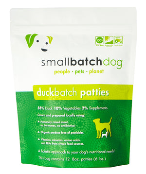 Smallbatch Frozen Duck Batch Dog Food