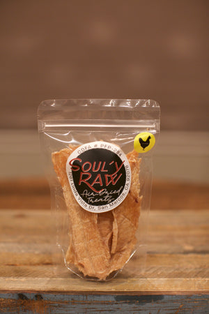 Soul'y Raw Air-Dried Chicken Breast Treats