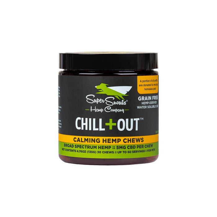 Super Snouts Chill Out Chews 30 Count