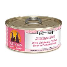 Weruva Amazon Liver with Chicken & Chicken Liver in Pumpkin Soup Grain-Free Canned Dog Food 5.5oz