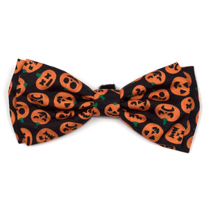 Worthy Dog Jack-O'-Lantern Bow Tie
