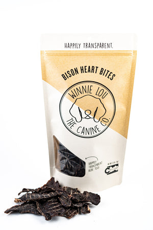 Winnie Lou Bison Heart Treats