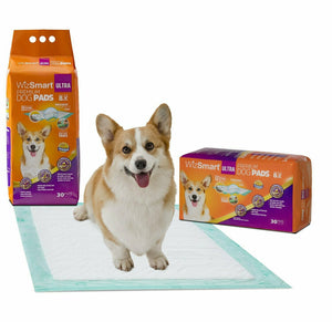 "WizSmart Puppy Training Pee Pads 24"" x 24"" 30 Count"