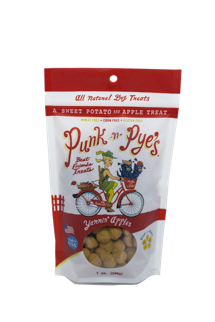 Punk n Pyes Yammin Apples Dog Treats 7oz