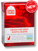 Open Farm Grass-Fed Beef Rustic Blend 5.5oz Cat