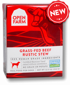 Open Farm Grass-Fed Beef Rustic Stew 12.5oz