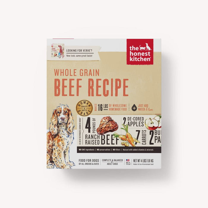 The Honest Kitchen Dehydrated Whole Grain Beef Recipe (Verve)