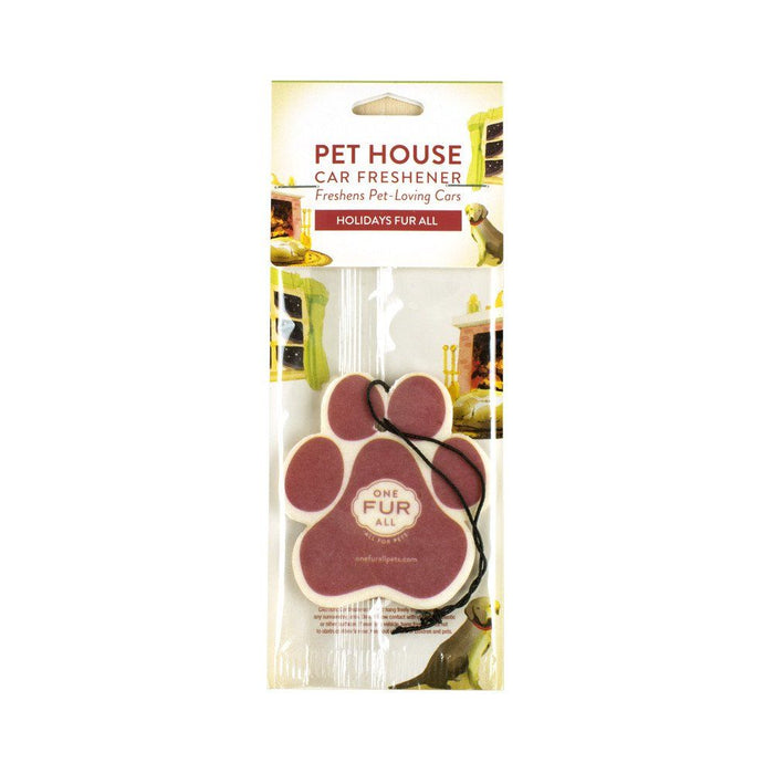 Pet House Holidays Fur All Car Air Freshener