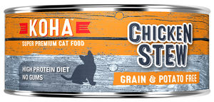 KOHA Chicken Stew Canned Cat Food 5.5 oz can