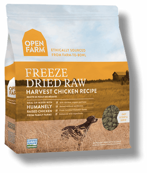 Open Farm Freeze Dried Raw Harvest Chicken Recipe 13.5oz
