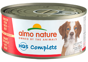 Almo Chicken Stew with Beef Dog Can 5.5oz