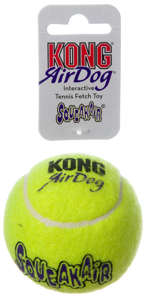 Kong Air Dog SIngle Medium Tennis Ball for Dogs