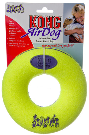 Kong Air Squeaker Donut Chew Toy