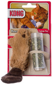Kong Catnip Refillable Beaver Cat Toy with Catnip