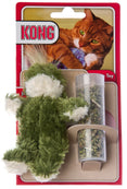 Kong Catnip Refillable Frog Cat Toy with Catnip