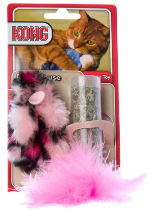 Kong Catnip Refillable Field Mouse Cat Toy