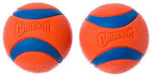 Chuckit! Ultra Balls 2-Pack Dog Fetch Toys