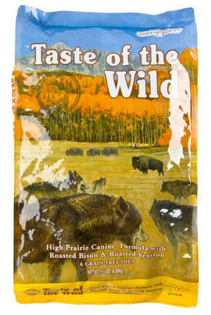 Taste of The Wild High Prairie Venison and Bison Formula Dry Dog Food