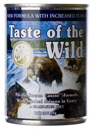 Taste of The Wild Pacific Stream Salmon Formula Canned Dog Food
