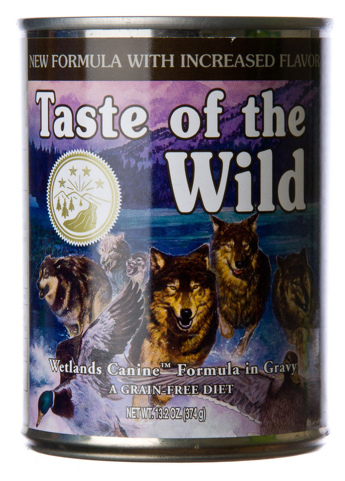 Taste of The Wild Wetlands Wild Fowl Formula Canned Dog Food