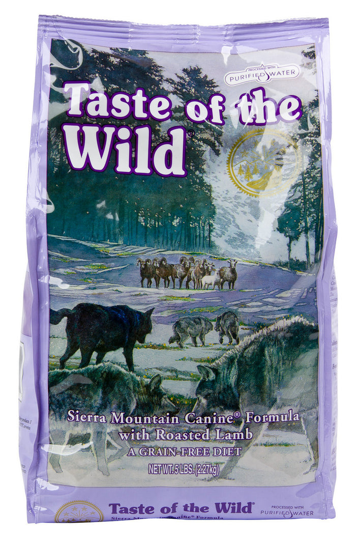 Taste of The Wild Sierra Mountain Roasted Lamb Dry Dog Food