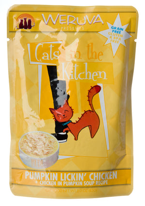 Weruva Pumpkin Lickin' Chicken Cat Food Pouches