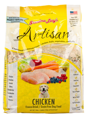 Grandma Lucy's Freeze Dried Artisan Chicken Dog Food