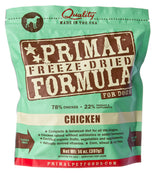 Primal Pet Foods Freeze Dried Chicken Formula Dog Food