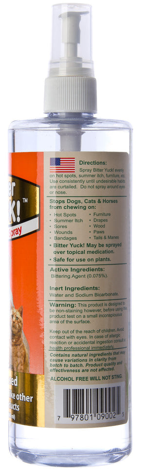 NaturVet Bitter Yuck! Repellent Spray for Dogs and Cats