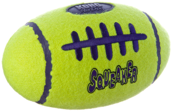 Kong Air Dog Squeaker Football Toy for Dogs