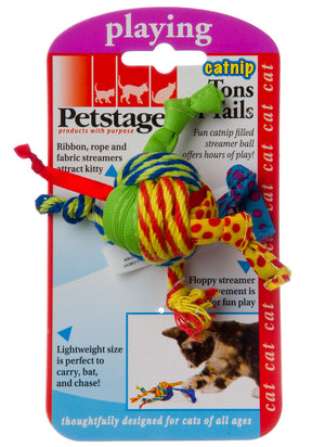 Petstages Tons of Tails Catnip filled Cat Toy