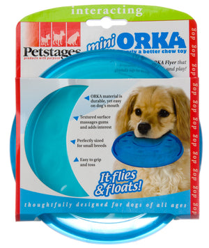 Petstages Mini Orka Flyer Dog Toy