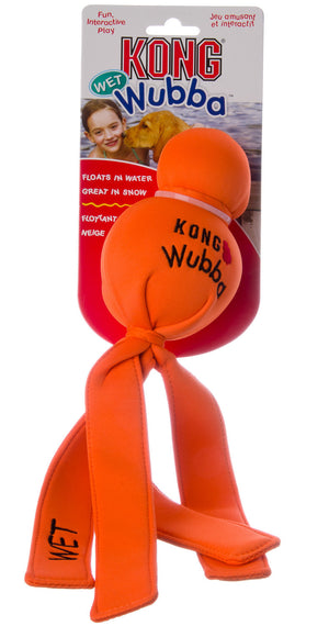 Kong Large Water Wubba Floating Dog Chew Toy