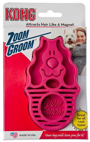 Kong Zoom Groom Grooming Tool for Dogs and Cats