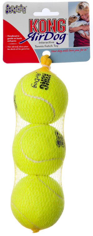 Kong Air Squeaker Tennis Ball Packs