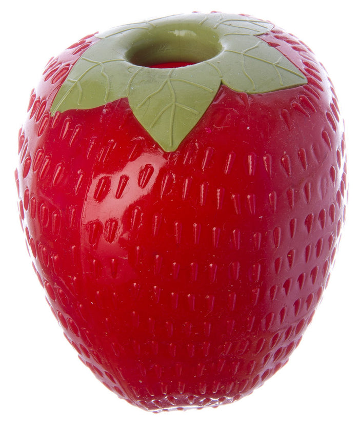 Planet Dog Orbee-Tuff Strawberry with Treat Hole Dog Toy