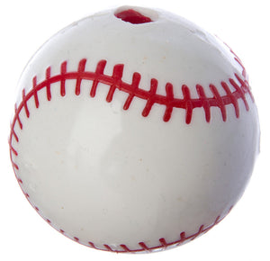 Planet Dog Sport Baseball with Treat Hole Dog Toy