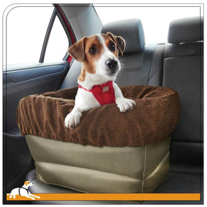 Kurgo Booster Seat Air-Ride Dog Car Seat/Carrier