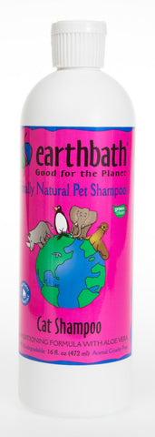 Earthbath Cat Shampoo & Conditioner