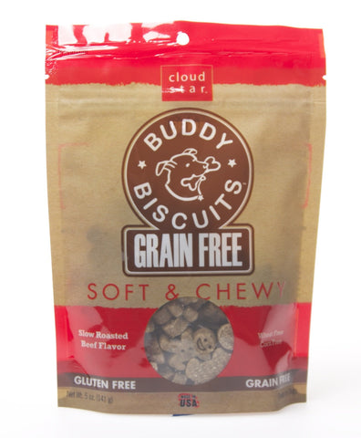 Cloud Star Grain Free Soft & Chewy Beef Treats