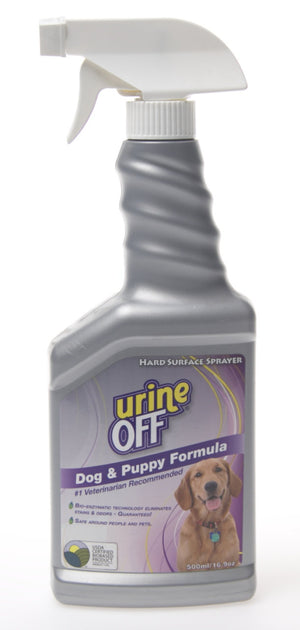 Urine Off Dog and Puppy Spray
