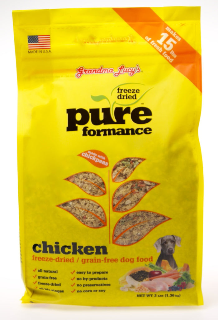 Grandma Lucy's PureFormanceChicken Dog Food