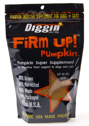 Diggin' Your Dog Firm Up Pumpkin Supplement