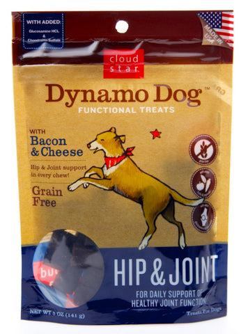 Cloud Star Dynamo Hip & Joint Bacon & Cheese Treats