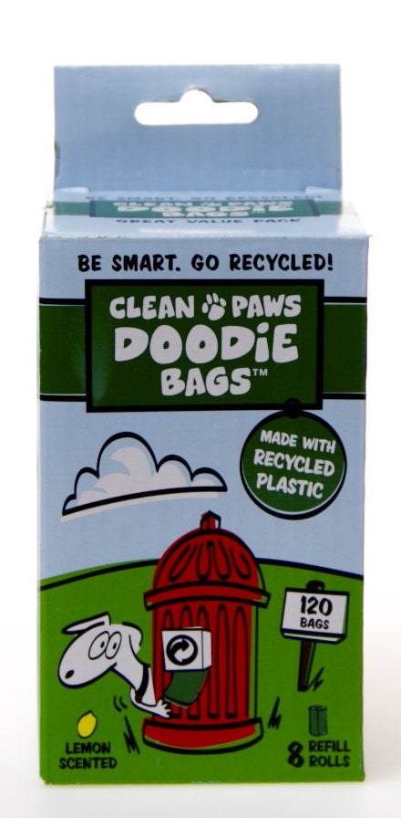 Flush Puppies Doodie Bags Refill 8 Rolls